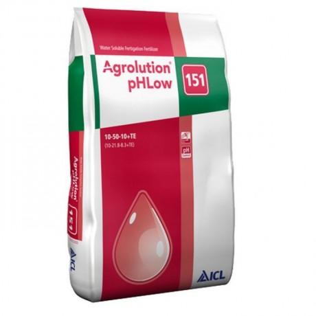 Agrolution pH Low 151 10+50+10+ME / 25 KG